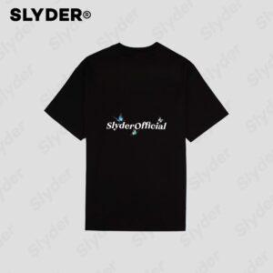 Slyder Butterfly Black T-Shirt